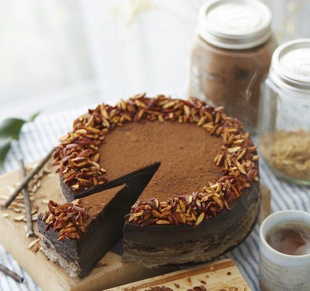 torta alla crema di cioccolato